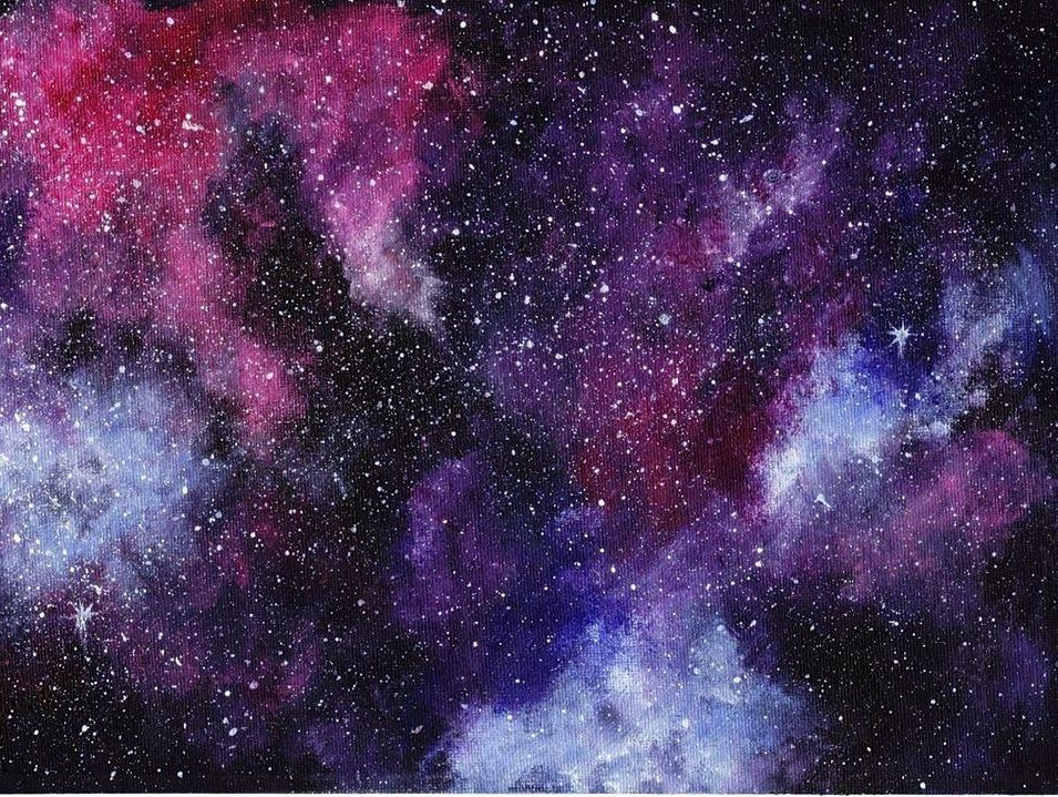 Call Ahead Craft: Galaxy Painting for Kids