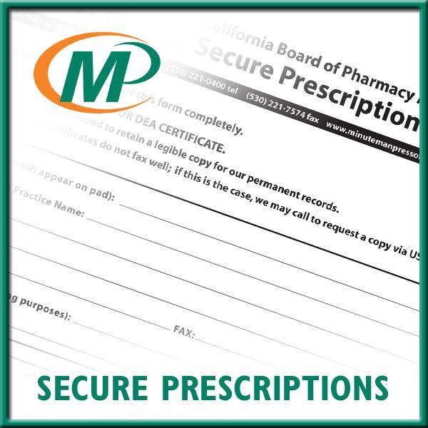 Prescription RX pads