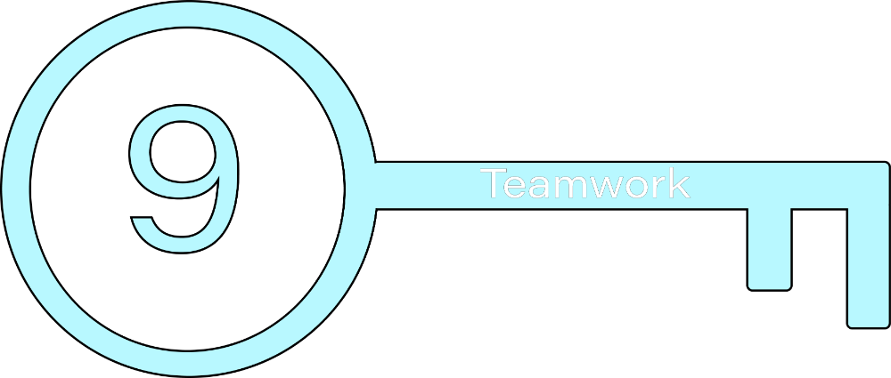 Key 9: Teamwork