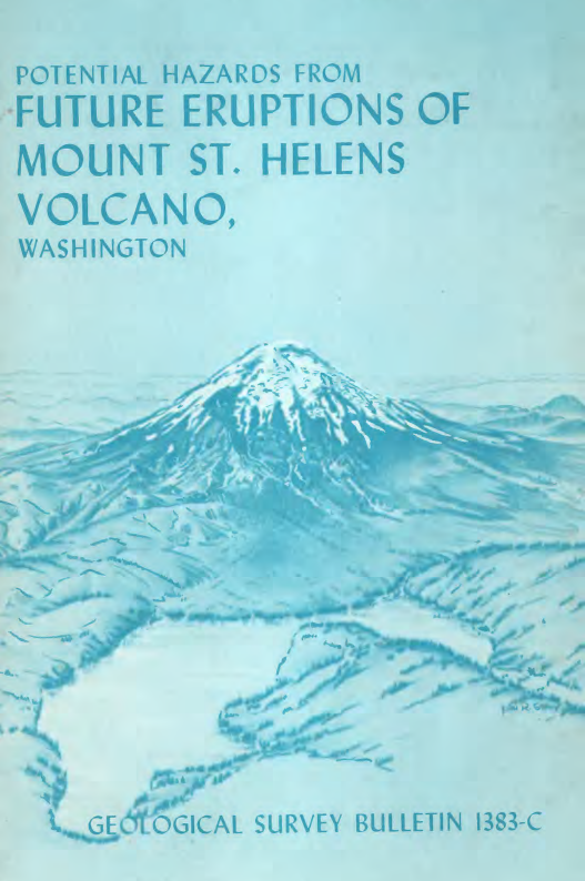 Potential hazards from future eruptions of Mount St. Helens Volcano, Washington