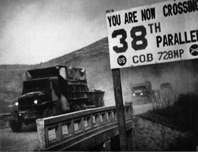 1950: North Korean invasion of South Korea.