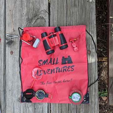 Small Adventures Backpack & Accessories