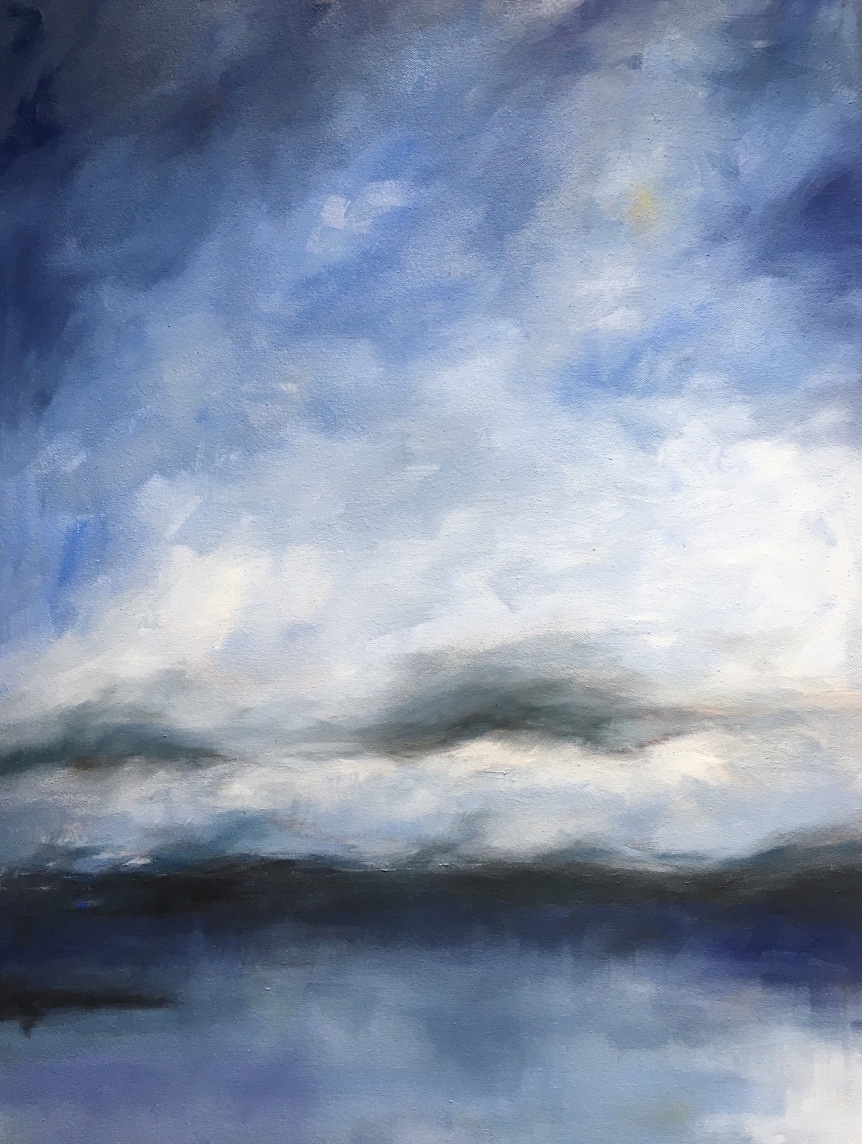"""Julie Berg-Linville - """"Twilight Fog Bank"""""""