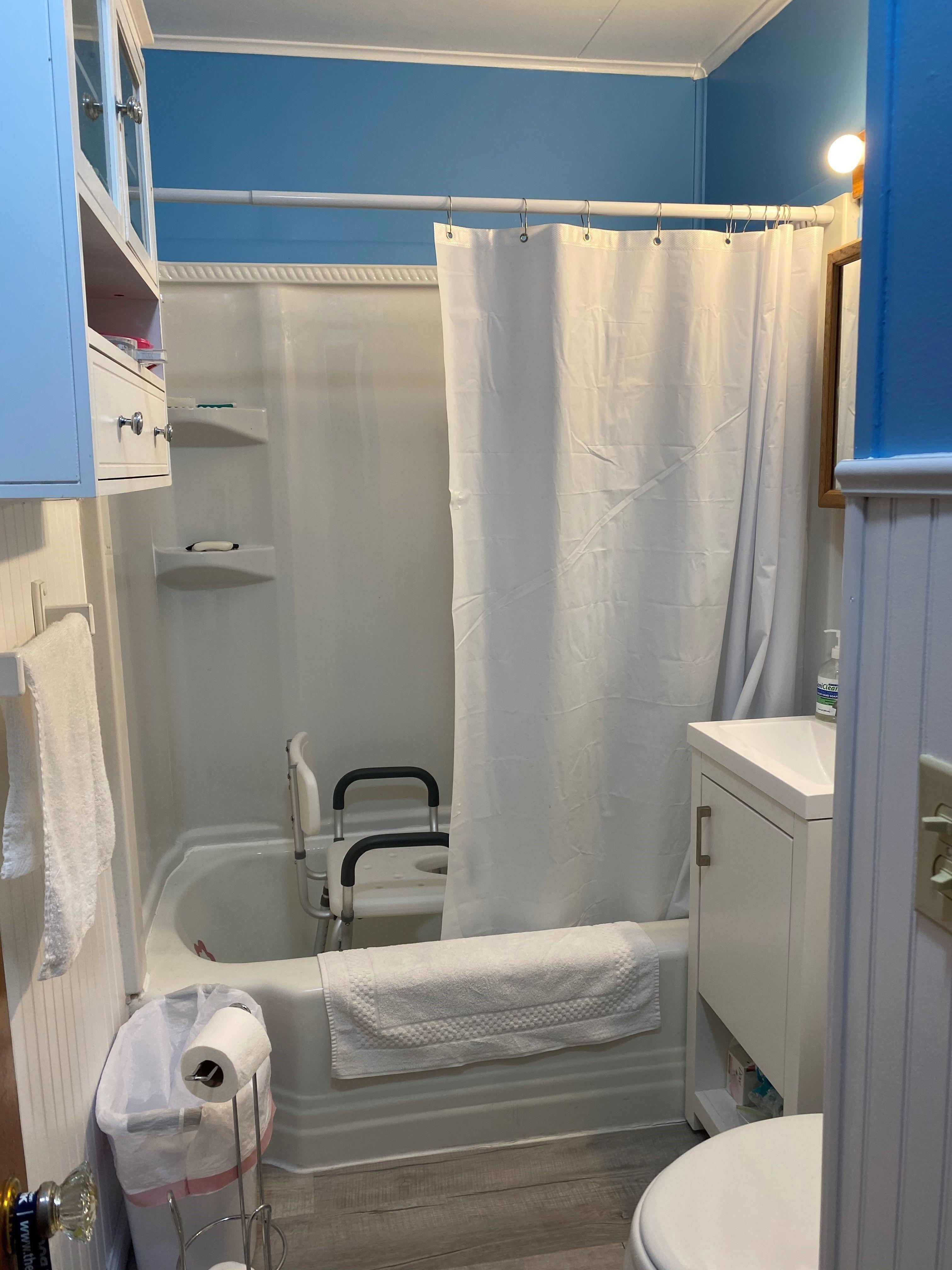 New bathroom a big relief for elderly Springfield homeowner