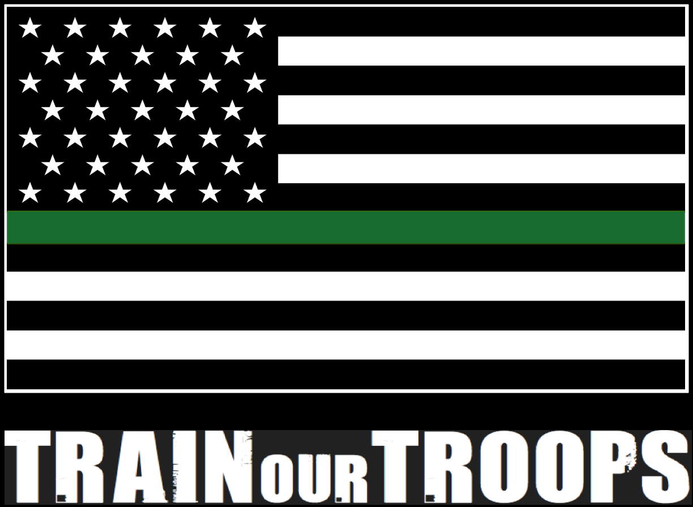 Vehicle Decal: Flag (black background)