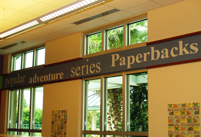 Library Wall Mural 3