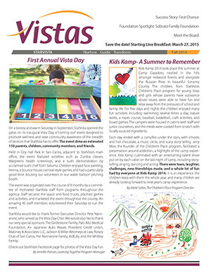 Vistas Newsletter Fall 2014