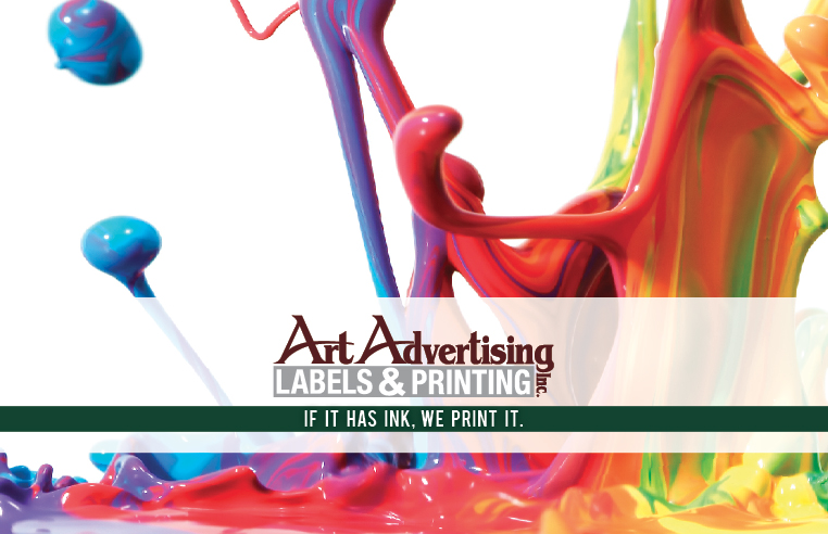 Art Advertising Brochure