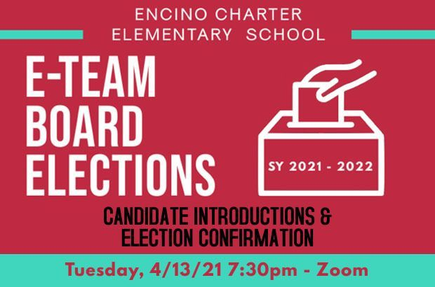 E-TEAM BOARD CANDIDATE INTRODUCTION