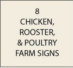 O24450 - Chicken & Poultry Farm Signs