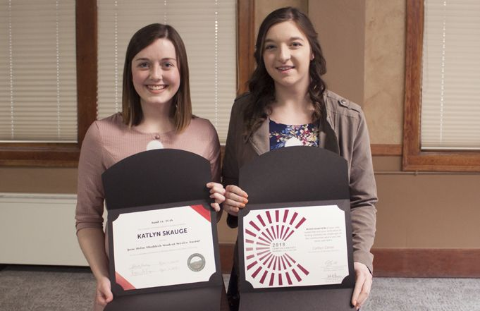 Community Members and Students Honored with Service Awards