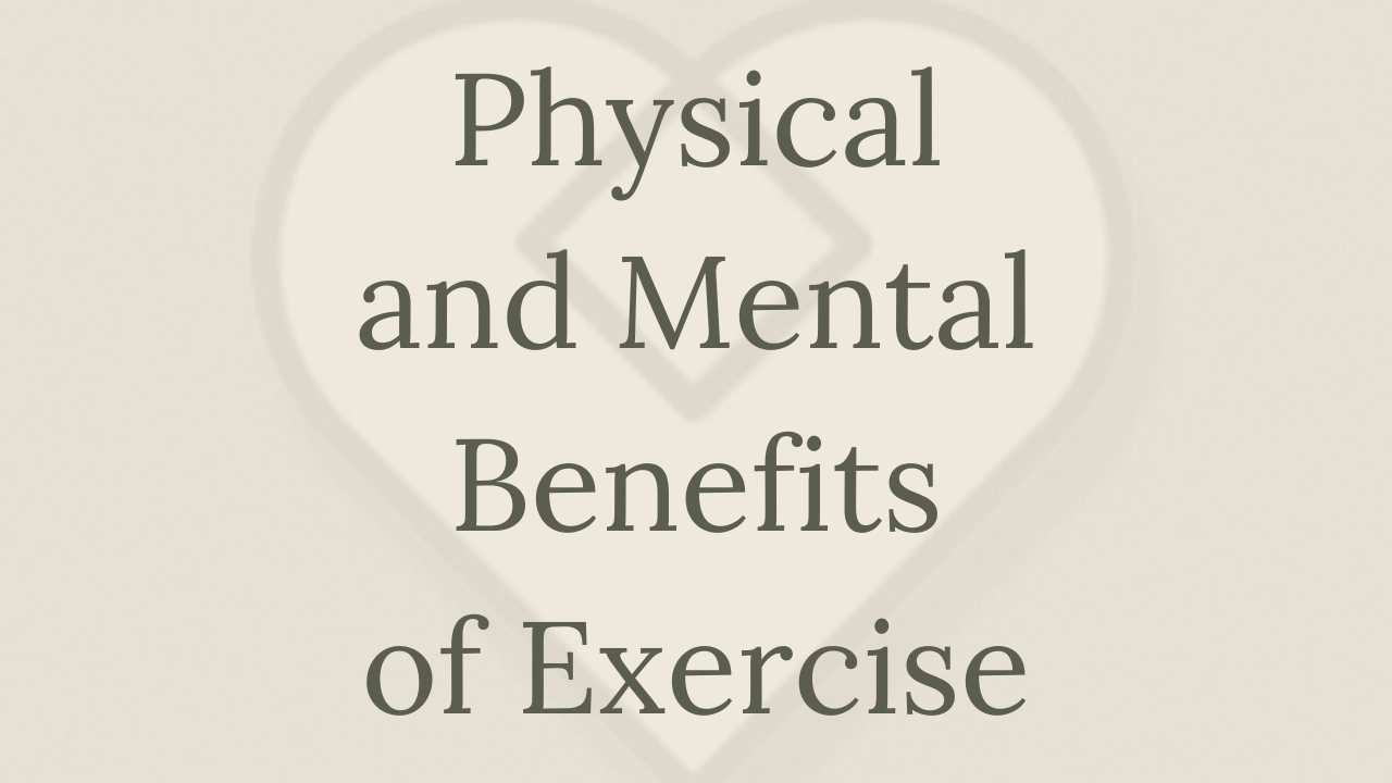 Mental Health Minute: Physical and Mental Benefits of Exercise