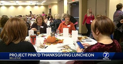 Project Pink'd Thanksgiving Luncheon