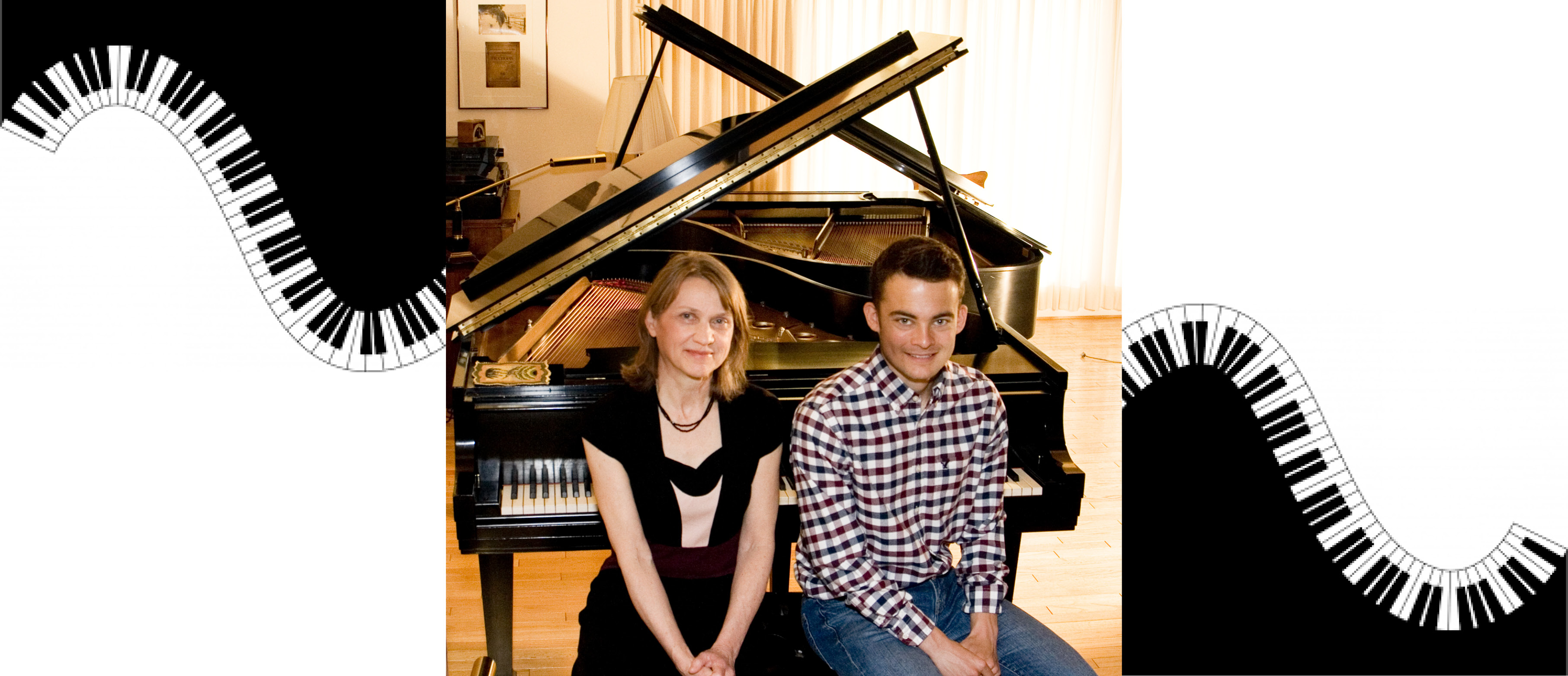 August 25: Twin Piano with Claudia Hoca & Matthew Prohaska