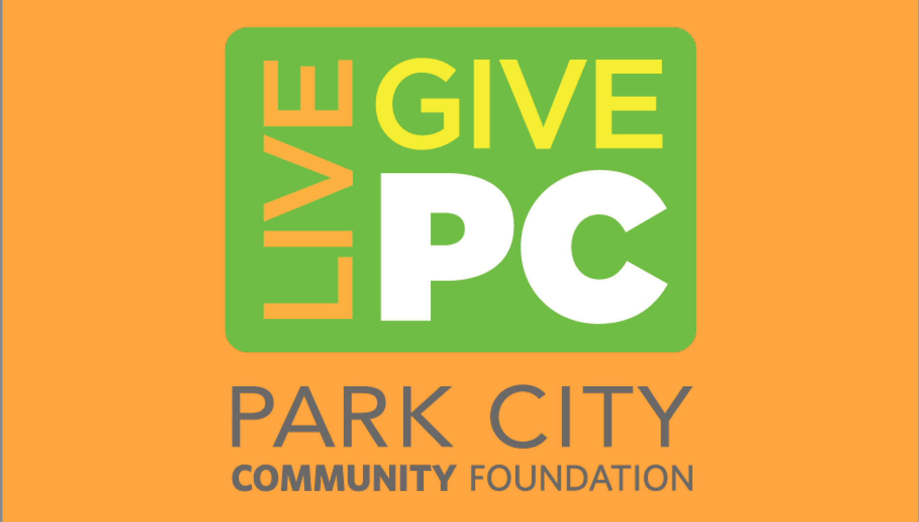 Live PC Give PC is This Friday