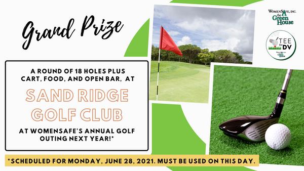 Grand Prize: Sand Ridge Golf Course Foursome