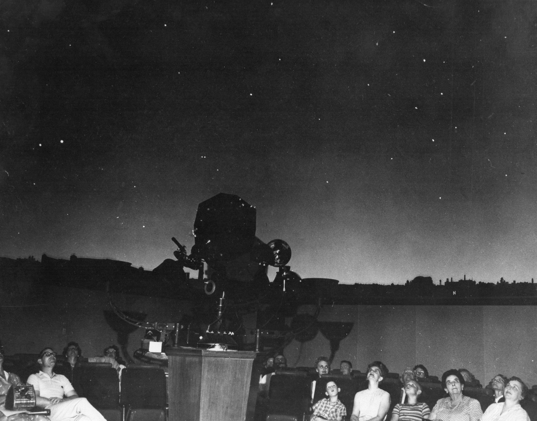 First star projector, Spitz A-2 (1958)