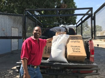 Help For Haiti's Shipment of Food and Aid Arrives