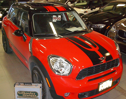 Pure Red MINI Countryman