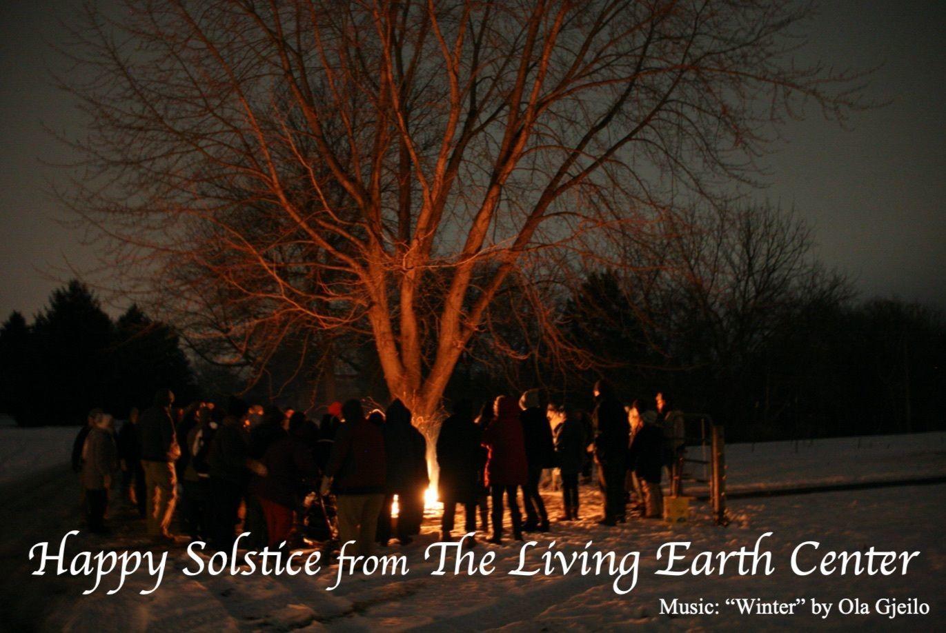 LEC Holds Online Winter Solstice Celebration