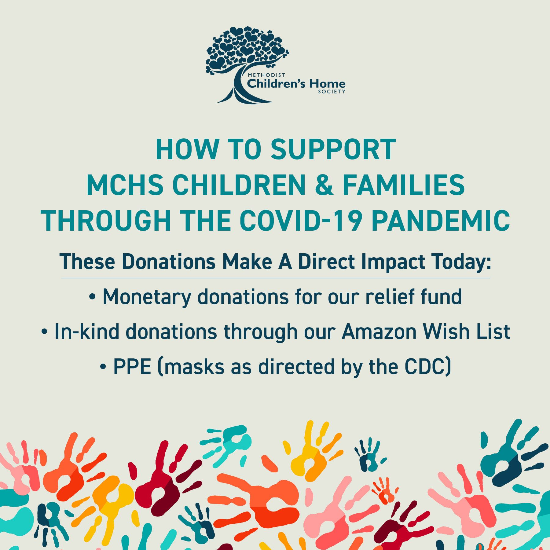 DONATE TO MCHS TODAY