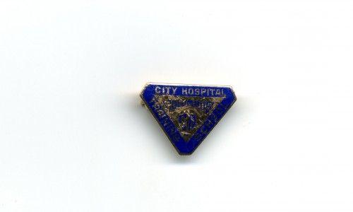 City Hospital Training School nurse's pin