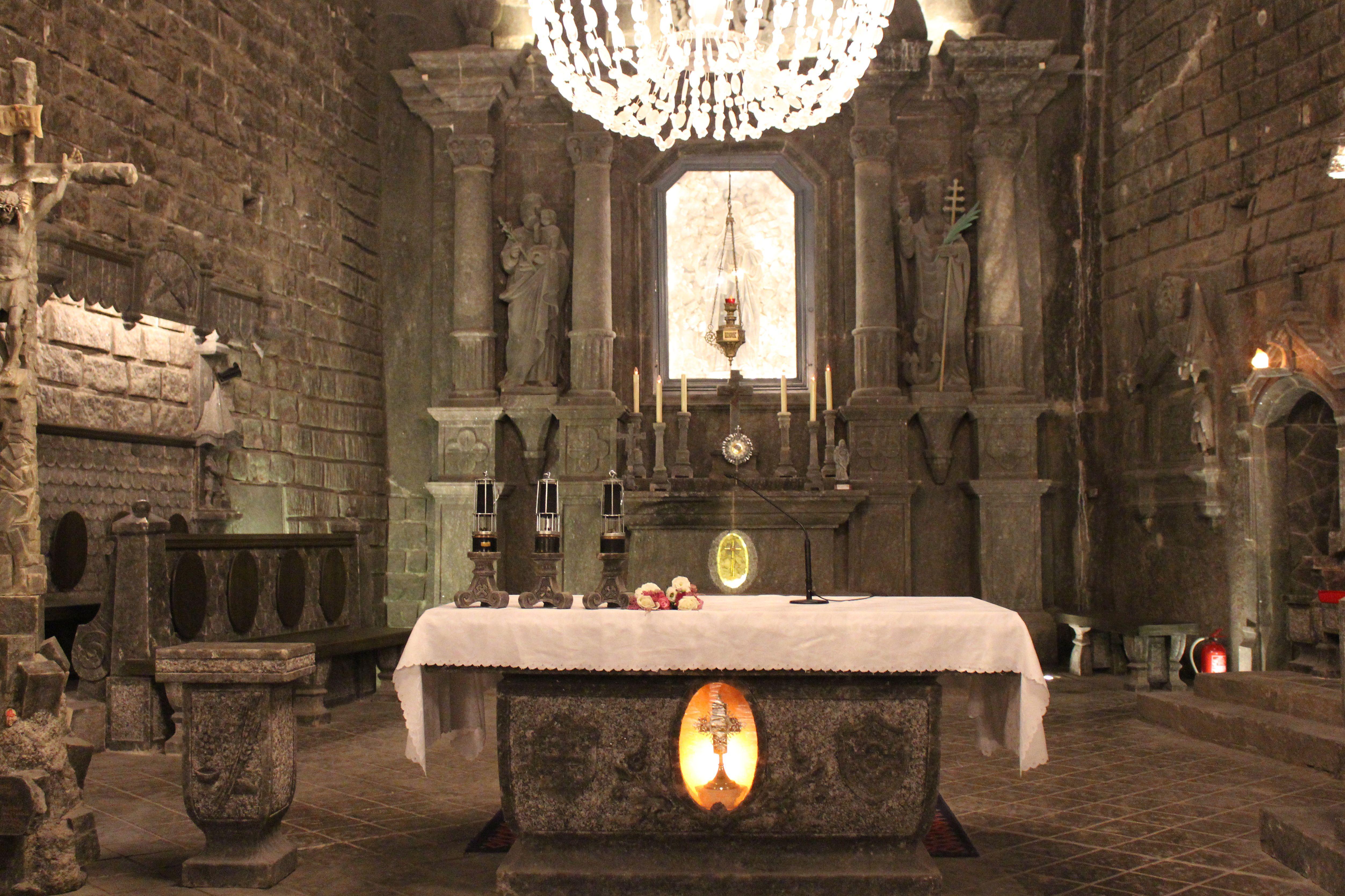 Wieliczka Salt Mine Chapel