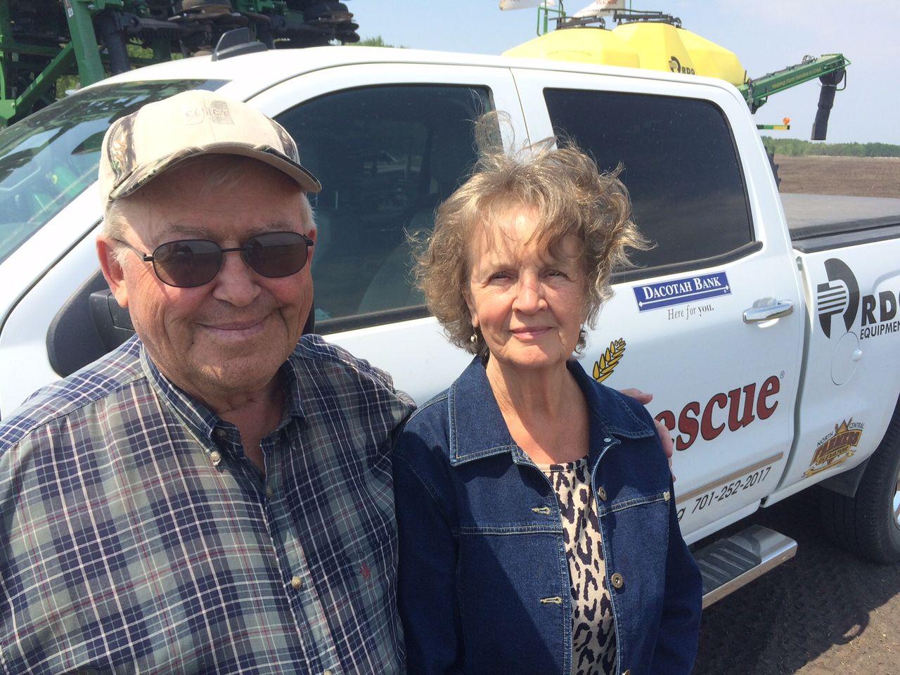 Dennis and Sharon McCullough