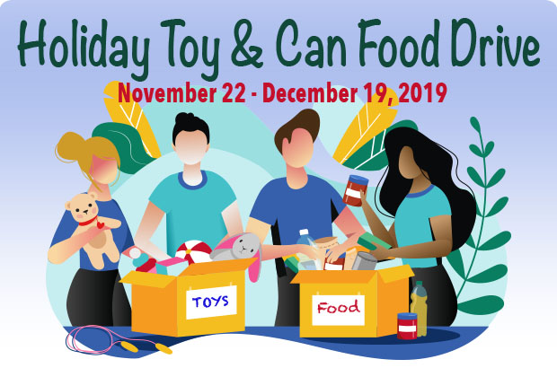 Holiday Toy & Can Food Drive