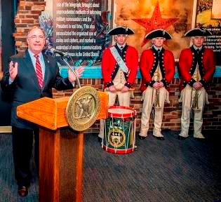 National Cryptologic Museum Foundation President Richard Schaeffer Speaks at the Revolutionary Secrets Opening
