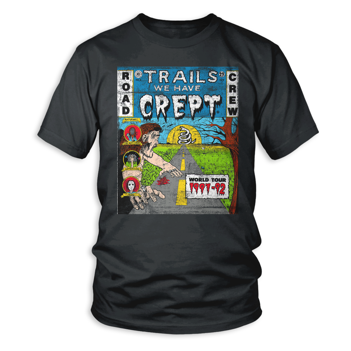 Trails We Have Crept World Tour Crew T-Shirt