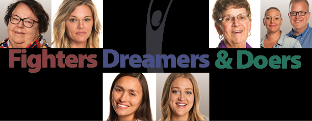 Fighters, Dreamers, and Doers banner