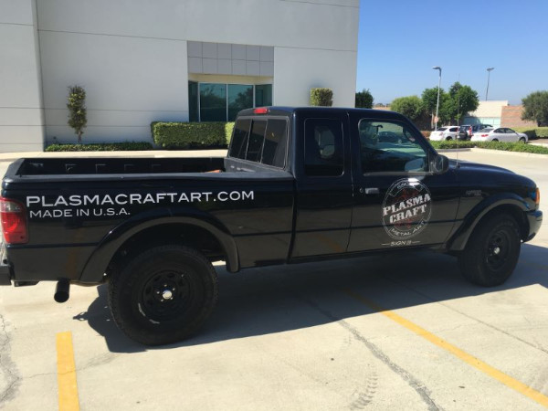 Low cost vehicle decals and graphics in Orange County CA