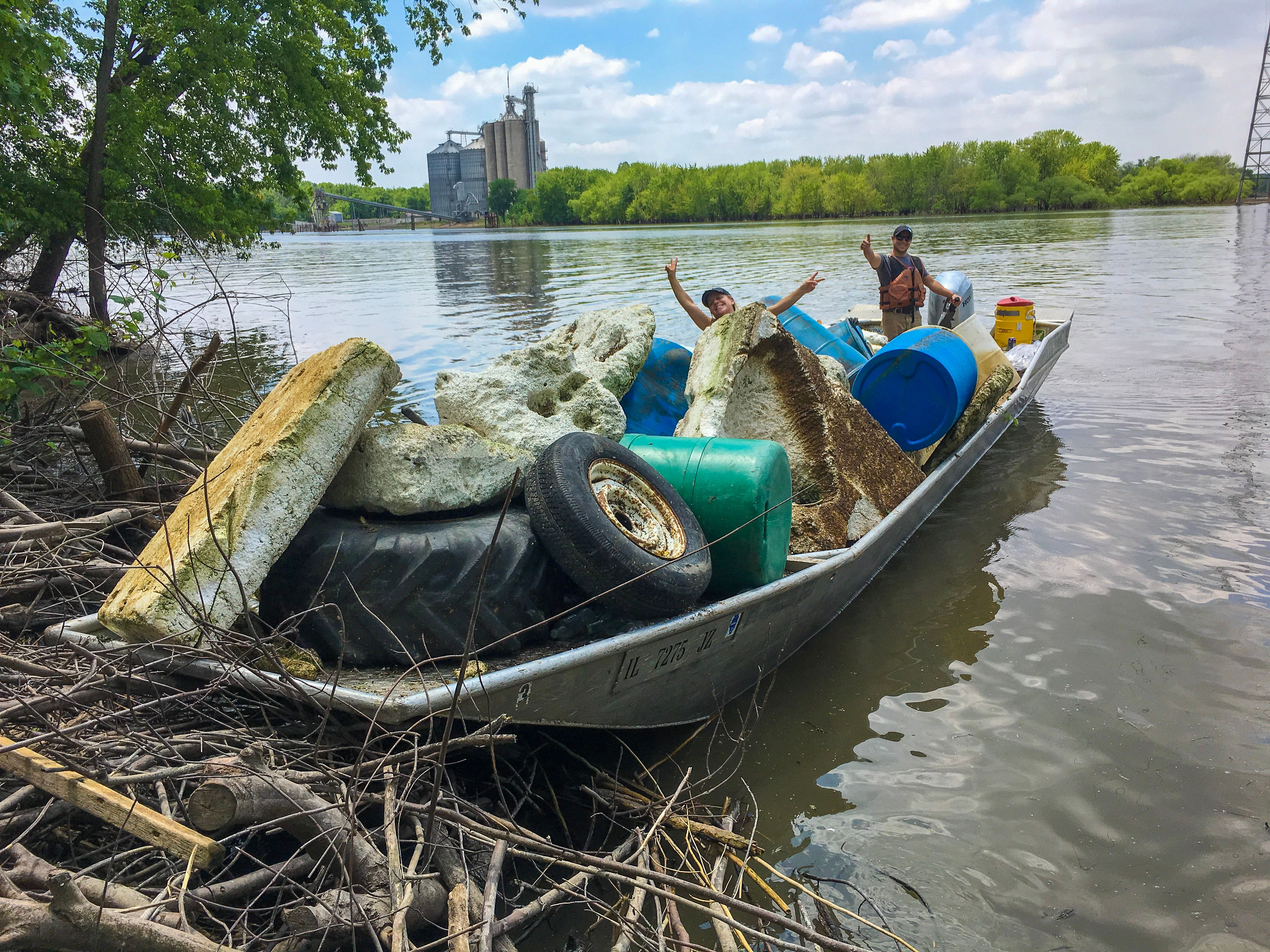 Illinois River Cleanups