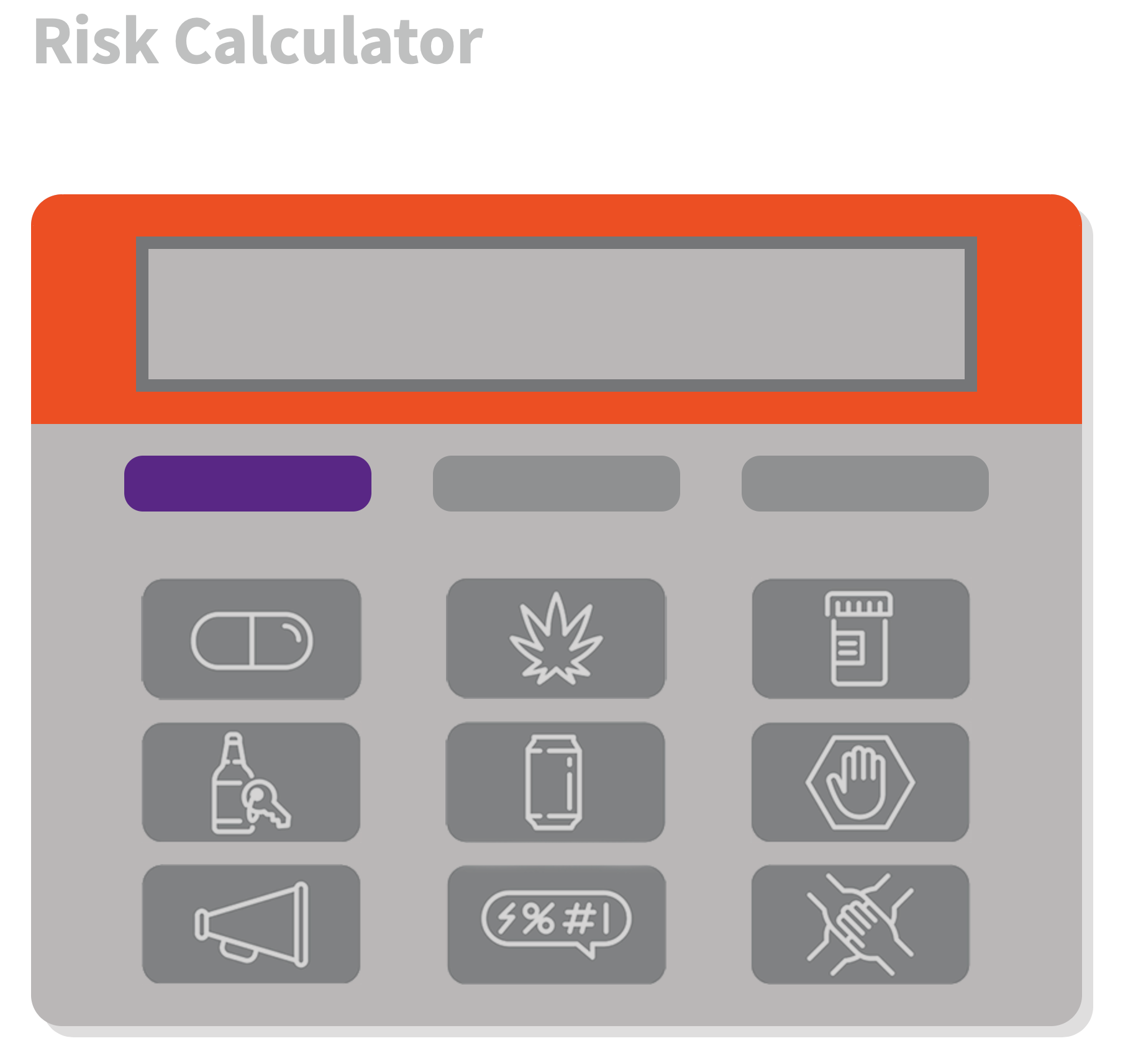 Interactive Risk Calculator