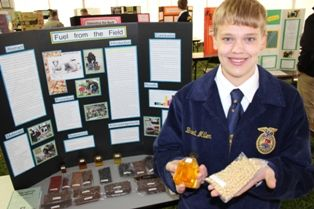 FFA Holds First Annual AgriScience Fair at State Convention in April