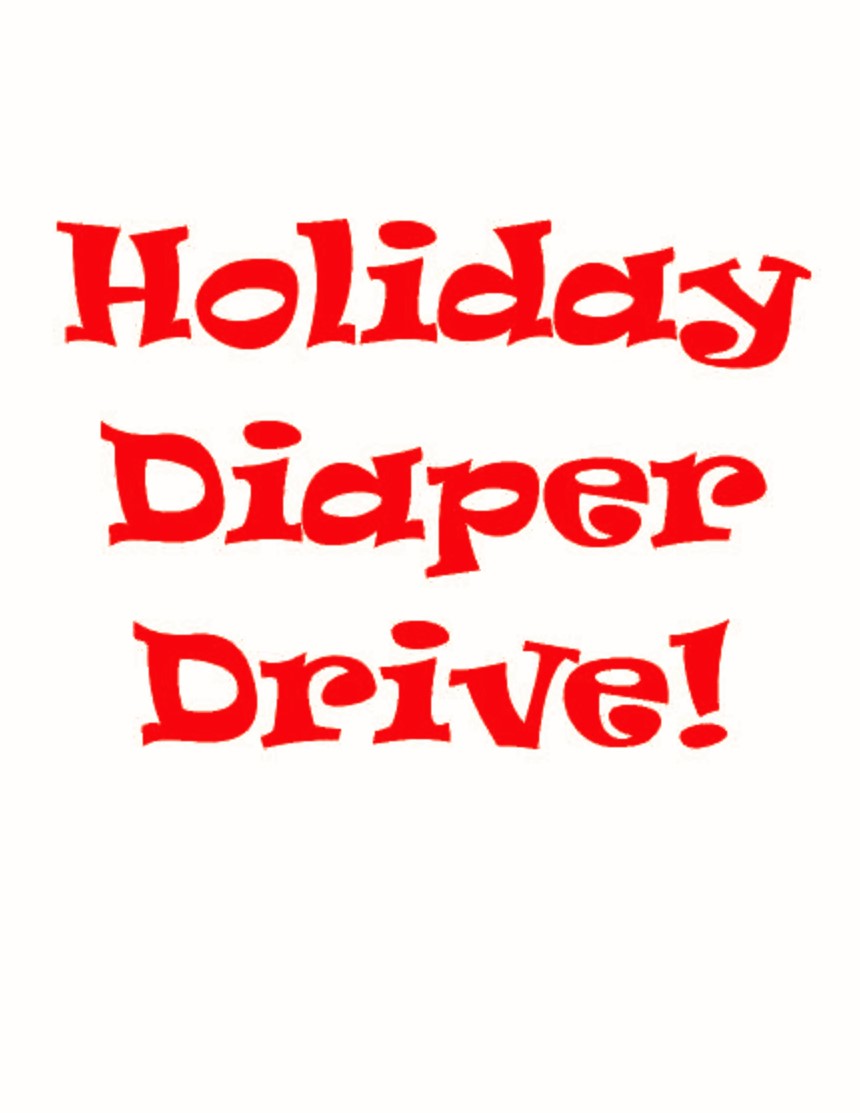 Holiday Diaper Drive!