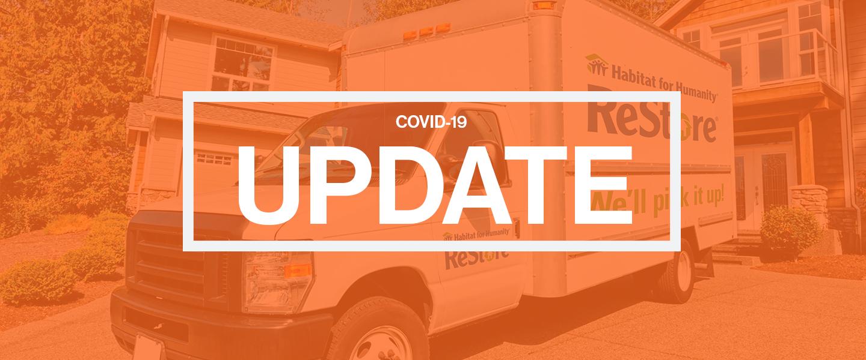 Habitat ReStore COVID-19 Reopening Update