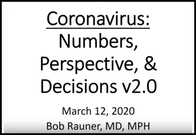 March 12, 2020 Update