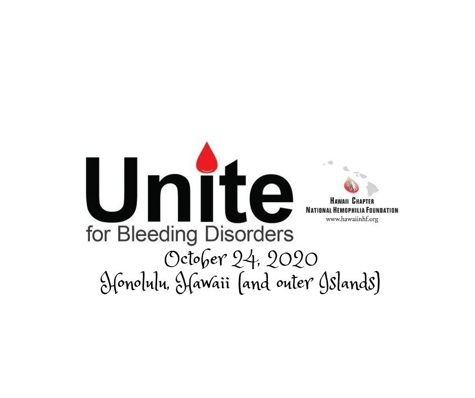 Hawaii UNITE for Bleeding Disorders Walk