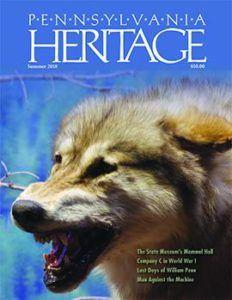 Summer 2018 Pennsylvania Heritage magazine available