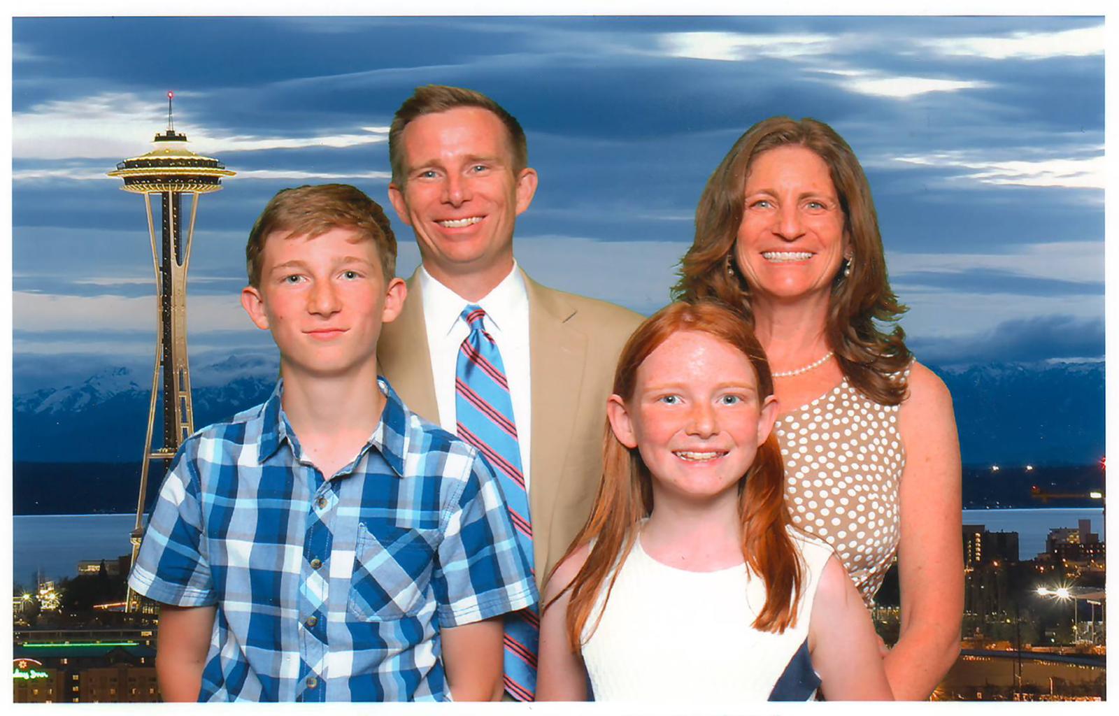 The Senn-Flaherty family.
