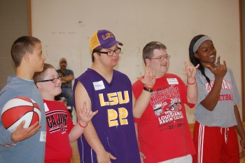 Basketball Clinic Pictures