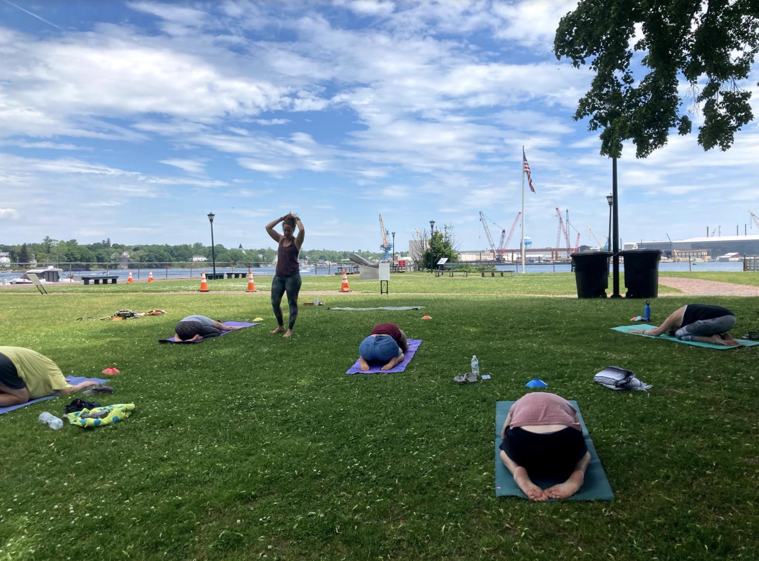 Yoga in the Park at Prescott Park