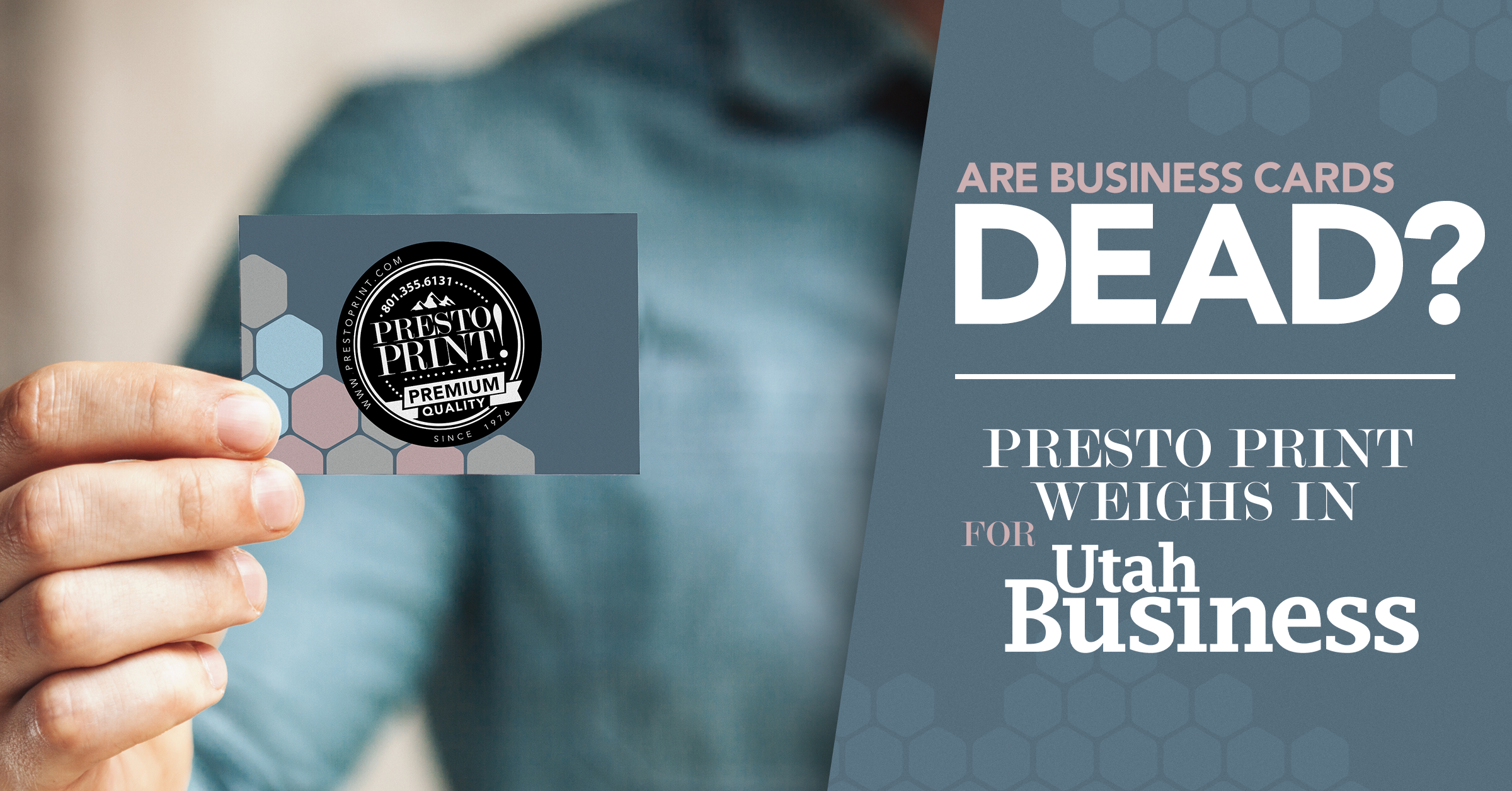 Are Business Cards Dead?