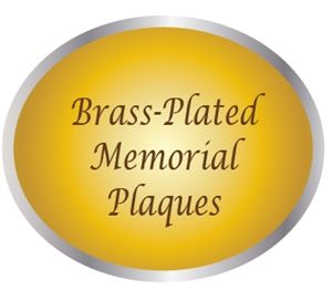 ZP-2000 - Carved Memorial and Commemorative Wall Plaques, Painted Brass and Bronze