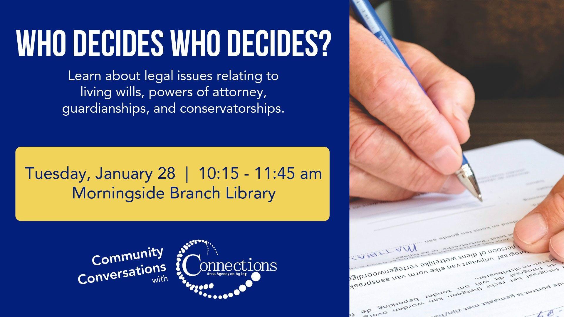 Sioux City: Community Conversations: Who Decides Who Decides