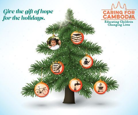 Caring for Cambodia 2020 Giving Tree Opens