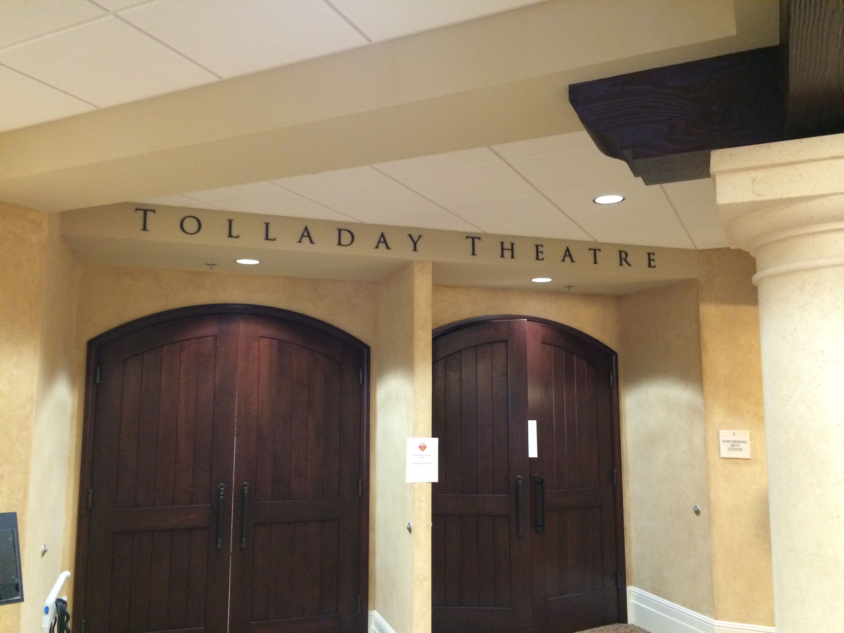 Tolladay Theatre