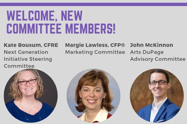 Welcome, New Committee Members!